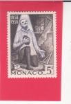 Stamps : Europe : Bulgaria :  Louis Bouriette, 1858 curado milagrosamente de enfermedades oculares