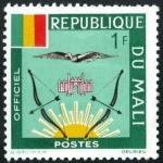 Sellos de Africa - Mali -  Escudo