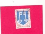 Stamps : Europe : France :  escudo de Mont-de-Marsan