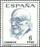 Stamps : Europe : Spain :  1761
