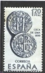 Stamps : Europe : Spain :  1754