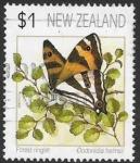 Sellos del Mundo : Oceania : Nueva_Zelanda :  mariposas