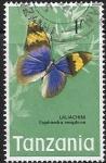 Sellos del Mundo : Africa : Tanzania :  mariposas