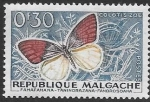 Sellos del Mundo : Africa : Madagascar : mariposas