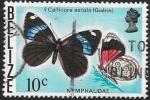 Sellos del Mundo : America : Belice : mariposas