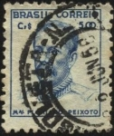 Stamps Brazil -  Mariscal Floriano Peixoto.