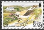 Sellos del Mundo : Europa : Isla_de_Man : aves