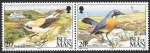 Stamps Europe - Isle of Man -  aves