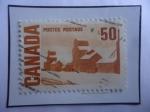 Stamps America - Canada -  Elevadores de Grano.
