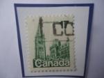 Stamps America - Canada -  Parlamento.
