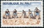 Stamps Africa - Mali -  Pesca