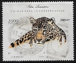 Stamps : America : Mexico :  Jaguar. Selva Lacadona.