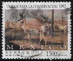Sellos del Mundo : America : México : Berrendos.