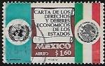 Stamps : America : Mexico :  Carta de los deberes y derechos económicos de los estados.