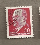 Sellos de Europa - Alemania -  Presidente DDR