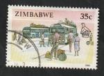 Stamps : Africa : Zimbabwe :  205 - Autocares