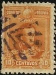 Stamps Bolivia -  Mariscal Antonio José de Sucre.