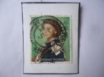 Sellos del Mundo : Asia : Hong_Kong : Queen Elizabeth II - Serie 1962-1972 - Sello de 10HK$-Dólar de Hong Kong.