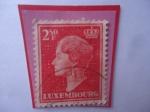 Sellos del Mundo : Europa : Luxemburgo : Grand Duchess Charlotte- Serie:1948-1958- Gran Duquesa Carlota de Luxemburgo (1896-1985).