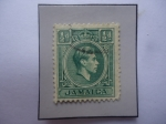 Sellos del Mundo : America : Jamaica : King George VI - Sello de 1/2d- Penique Jamaicano, año 1938