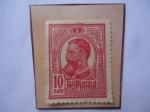 Sellos del Mundo : Europa : Rumania : King Carol I de Rumania (1839-1914) Alemán - Rey de Rumania desde 1866 hasta 1942)