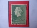 Sellos del Mundo : Europa : Holanda : Queen Juliana (1909-2004) - Serie: 1954-1957 - Sello de 2,1/2 Florín Holandés.