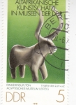 de Europa - Alemania -  figura museo Leipzig