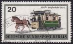 Sellos del Mundo : Europa : Alemania : Tranvía a caballo