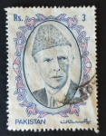 Stamps : Asia : Pakistan :  personajes