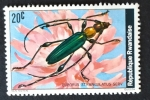 Stamps : Africa : Rwanda :  Insectos