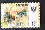 Stamps : Asia : Malaysia :  mariposas