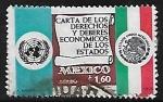 Sellos del Mundo : America : México : Carta de los Deberes y Derechos Económicos de los Estados.