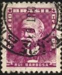 Sellos de America - Brasil -  RUI BARBOSA.