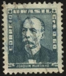 Stamps Brazil -  JOAQUIN MURTINHO.