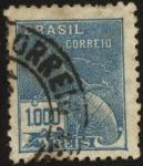 Stamps Brazil -  Mercurio.