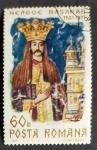 sello : Europa : Rumania : Reyes
