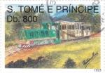 Stamps : Africa : São_Tomé_and_Príncipe :  Ferrocarril