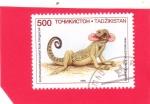 Stamps : Asia : Tajikistan :  PHRYNOCEPHALUS