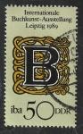 Stamps : Europe : Germany :  2855 - Exposición internacional del Arte del Libro, en Leipzig