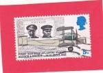 Stamps : Europe : United_Kingdom :  pioneros de la aviación