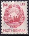 Sellos de Europa - Rumania -  escudo