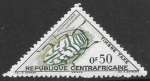 Stamps : Africa : Central_African_Republic :  insectos