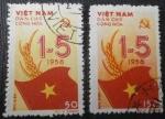Stamps Vietnam -  Fiesta del 1º de Mayo