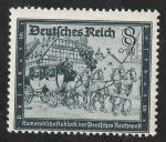 Stamps : Europe : Germany :  806 - Antigua Diligencia Postal