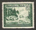 Stamps : Europe : Germany :  808 - Vehiculos de correos