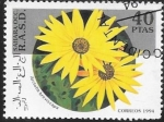 Stamps : Africa : Morocco :  flores