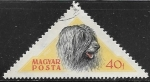 Stamps : Europe : Hungary :  perros - Puli