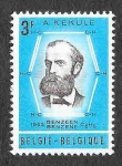 Sellos de Europa - Bélgica -  672 - August Friedrich Kekule