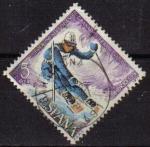 Stamps Spain -  España 1977 2408 Sello º Copa del Mundo de Esquí Timbre Espagne Spain Spagna Espana Espanha Spanje S