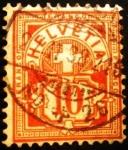 Stamps : Europe : Switzerland :  Escudo de Armas